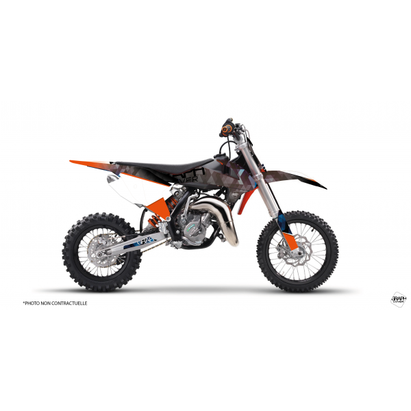graphic kit dirt bike ktm 65 sx - graphcover